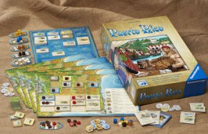 materiali gioco da tavolo puertorico