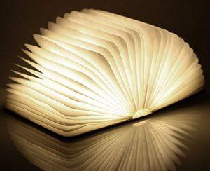 accessori lettura lampada a forma di libro