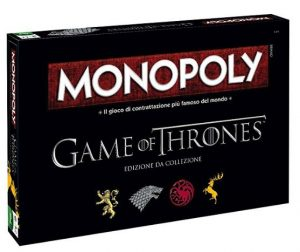 gioco da tavola game of thrones
