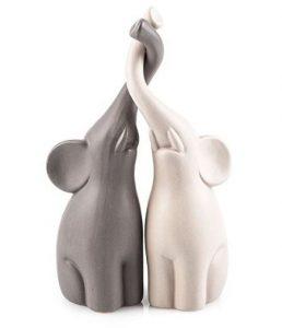 regalo per la casa soprammobile elefantini