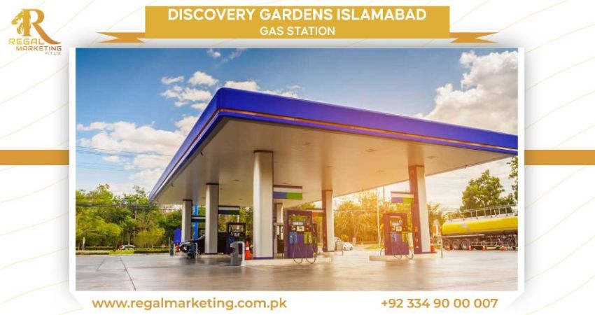 Gas Station in discovery gardens islamabad