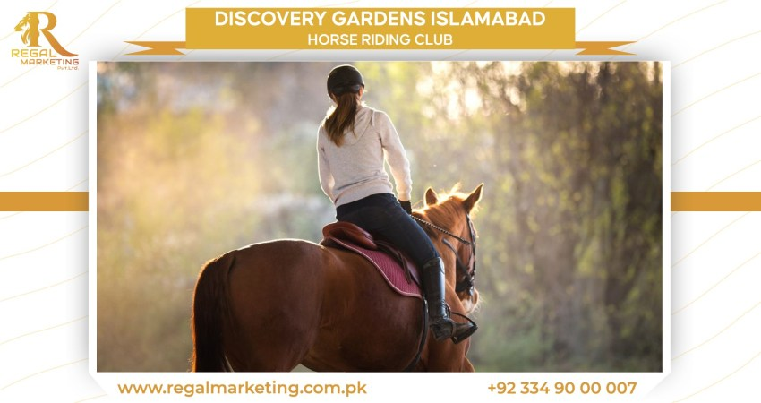 Horse Riding in discovery gardens Islamabad