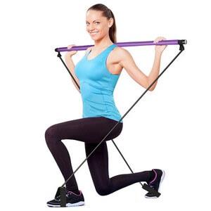 barra de pilates y yoga
