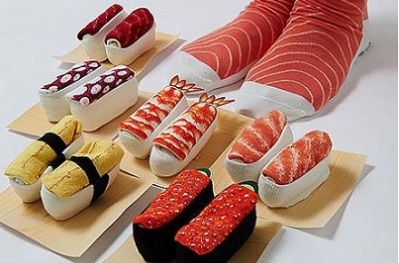 Resultado de imagen de calcetines sushi