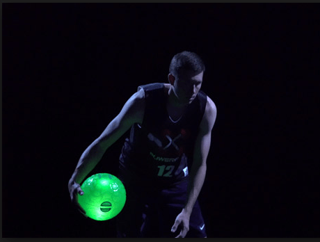 Nightball para jugar basketball de Noche