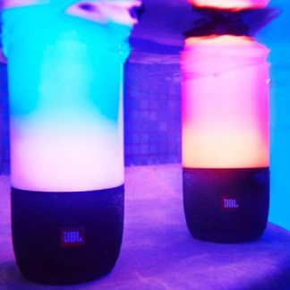 Parlantes con luces led de espectaculo impermeables jbl