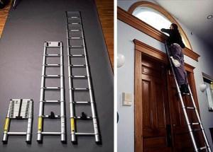 Xtend and Climb Escalera telescópica extensible escalera plegable