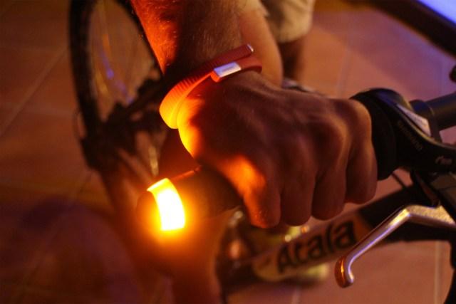 luces indicadoras de cambio de dirección para ciclistas WingLights Mag