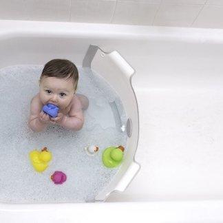 barrera separador de bañera para bebe