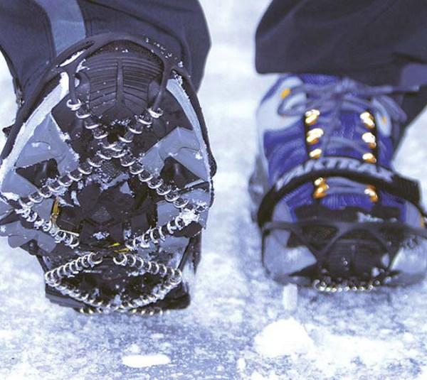 antideslizante pata suela de zapato para camina de noche