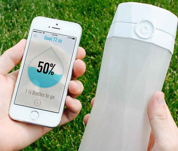 botella de agua inteligente HIDRATE SPARK 2.0