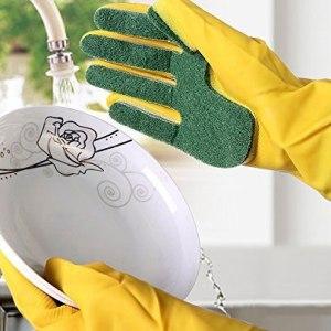 guantes esponjas