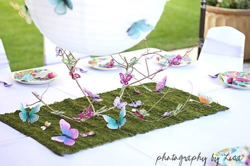 Decoración Vintage Para Fiestas Y Bodas Con Mariposas 2