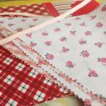 Banderines de tela para decorar habitaciones infantiles y fiestas de niños