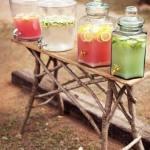 Dispensador de bebidas decorativo para bodas y fiestas