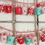 Manualidades de Navidad muy fáciles: calendario de Adviento