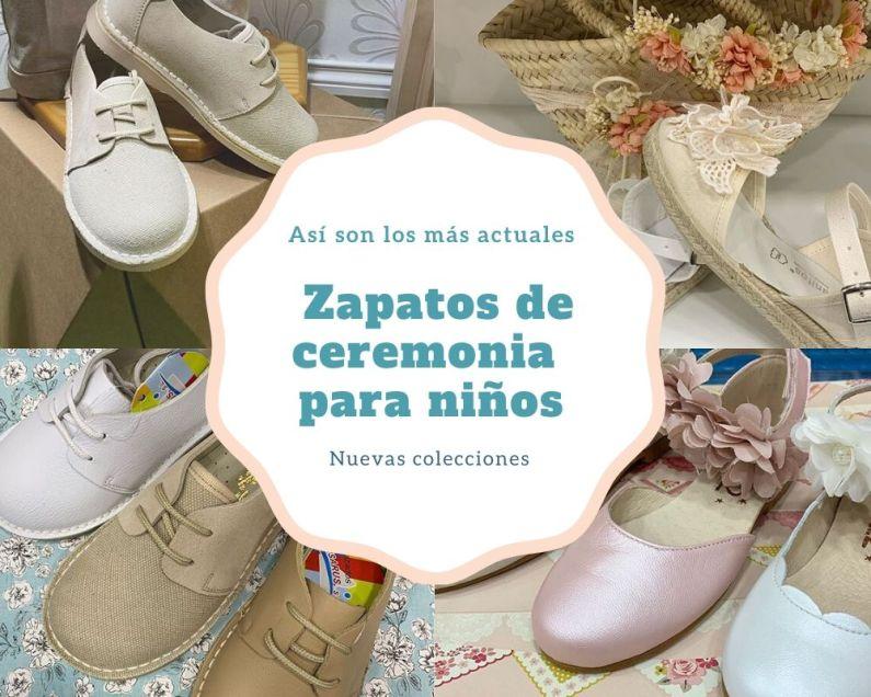 zapatos de ceremonia para niños ultimas colecciones