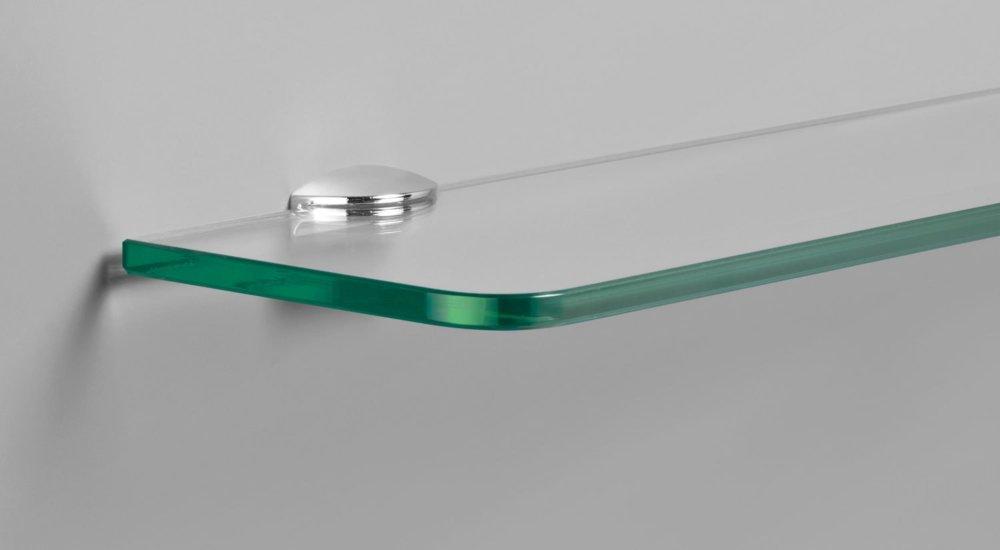 flic 8 support etagere verre 2 pcs pour tablette 0 6 0 8 cm chrome