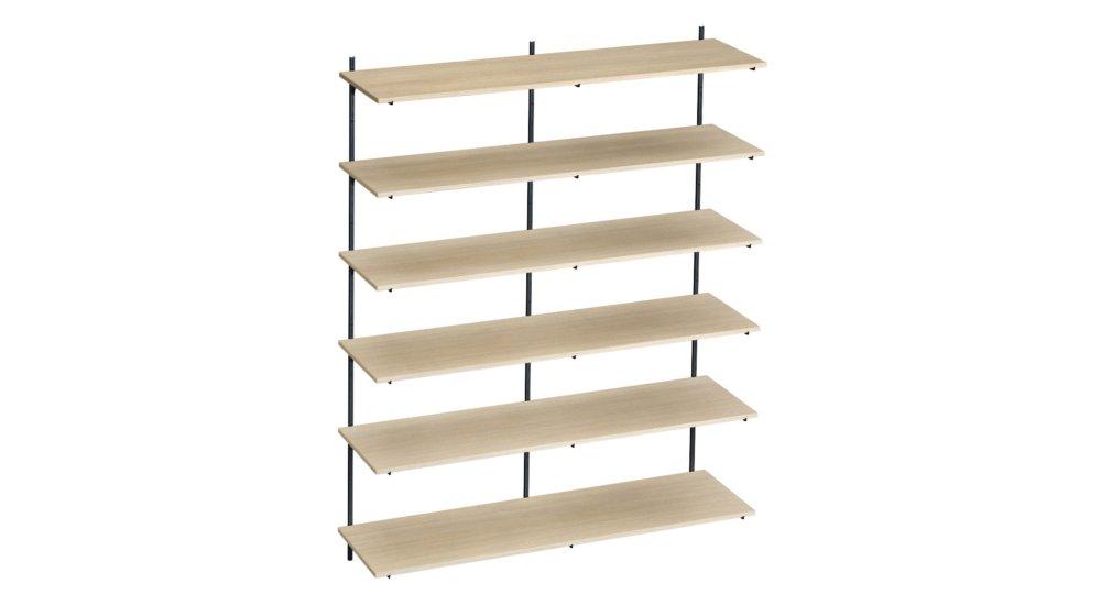 p slot h1 201 etagere cremaillere 160x200x42 cm lxhxp