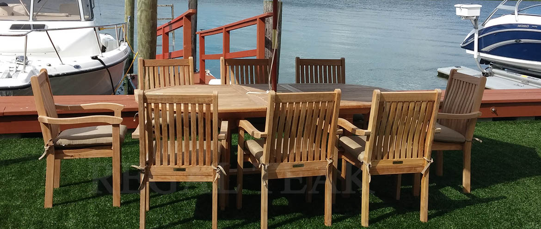 regal teak outdoor patio furniture
