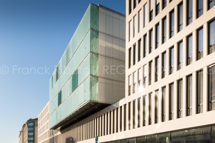 photographie de franck ribard - regard objectif - photographe architecture lyon - Université Lyon 3