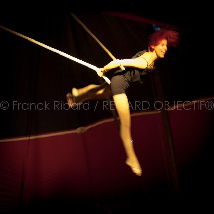 photographie de Franck Ribard - regard objectif - Cirque Romanès