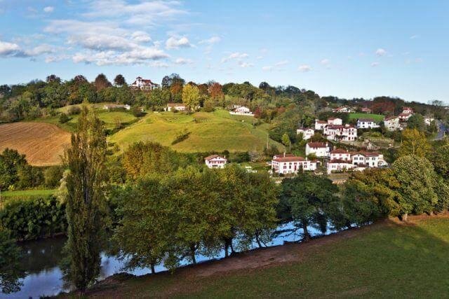 Des maisons typiques du Pays Basque