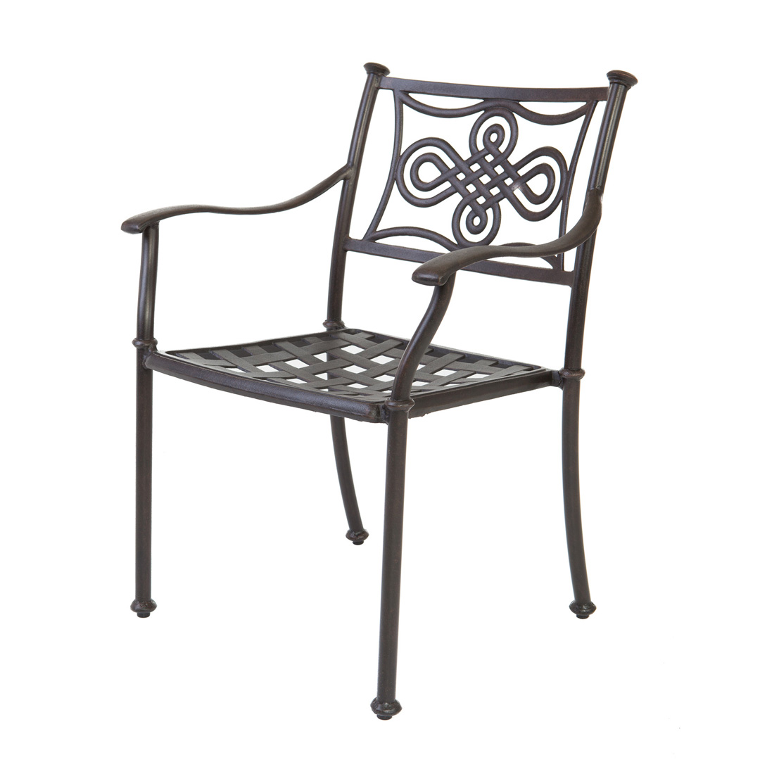 Cast Aluminium Kynysa Chair
