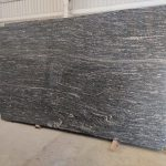 Black Granite With White Veins Marcino Black From South India