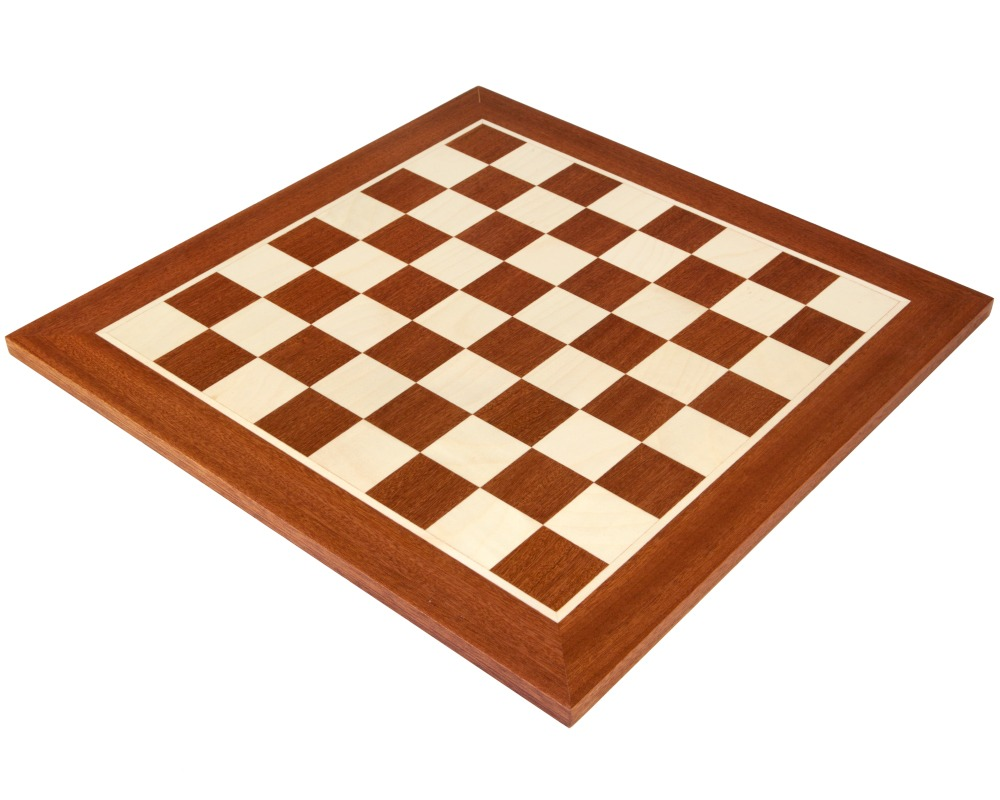 16 Inch No 4 Inlaid Wooden Chess Board Plc002 33 29 The Regency Chess Company The Finest Online Chess Shop