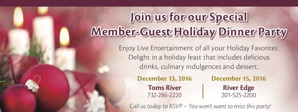 Member-Guest Holiday Dinner Party