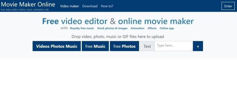 Movie Maker Online