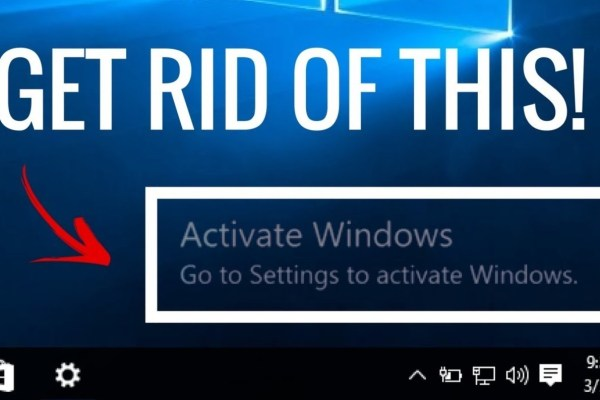 How To Remove Activate Windows 10 Watermark