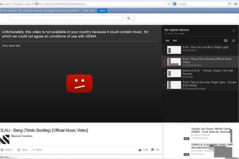 Watch Blocked YouTube Videos