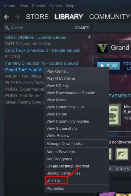 Delete Steam Games from Your Computer