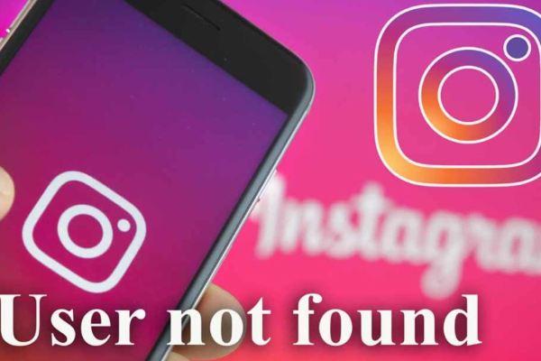 Instagram User Not Found