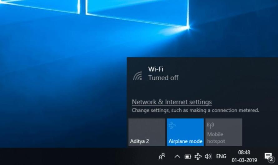 How to Fix Windows 10 Stuck in Airplane Mode