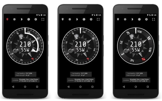 Best Compass Apps for Android: Compass Steel
