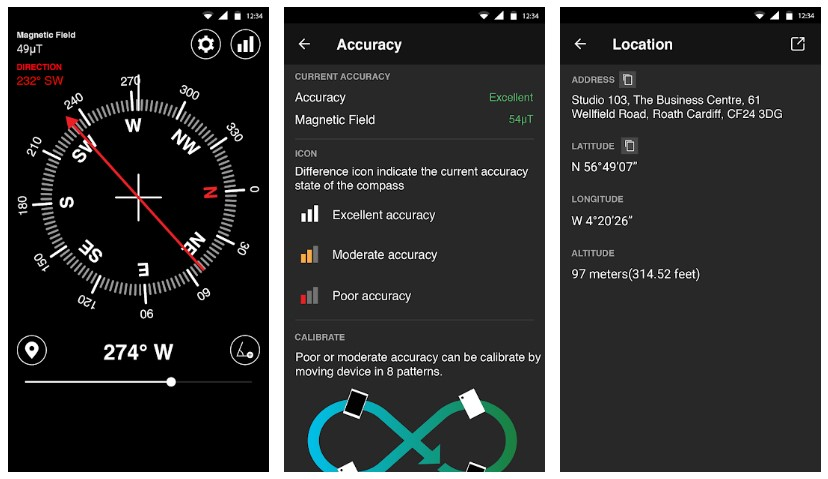 Best Compass Apps for Android: Digital Compass
