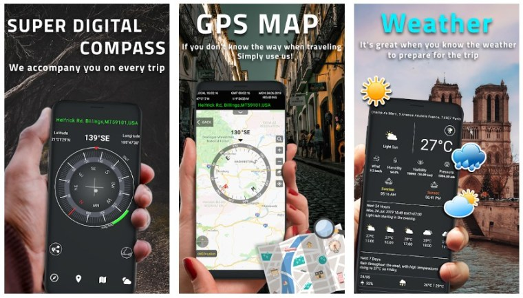 Best Compass Apps for Android: Super Digital Compass