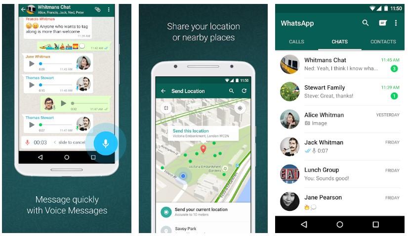 Whatsapp Interface