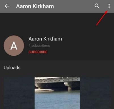 Block Youtube User on Apps