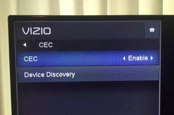 HDMI-CEC option Xbox One