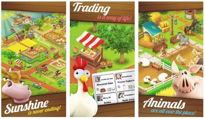 Best Farming Games: Hay Day