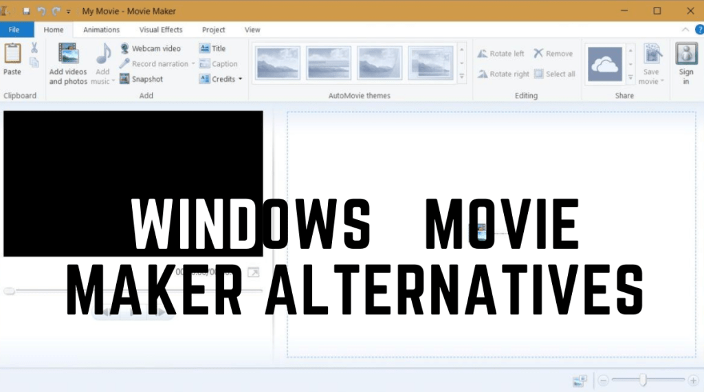 Windows Movie Maker Alternatives