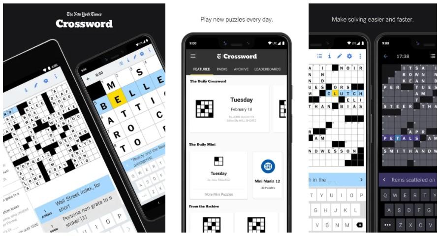 Best Crossword Puzzle Games: NYTimes – Crosswords
