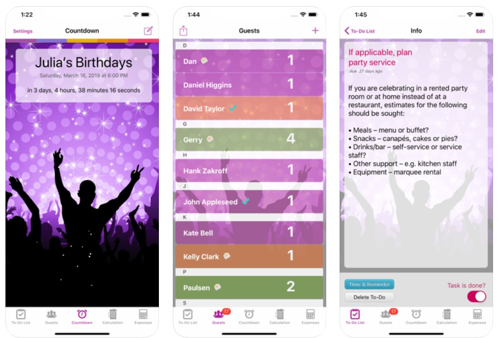 Party & Event Planner Lite