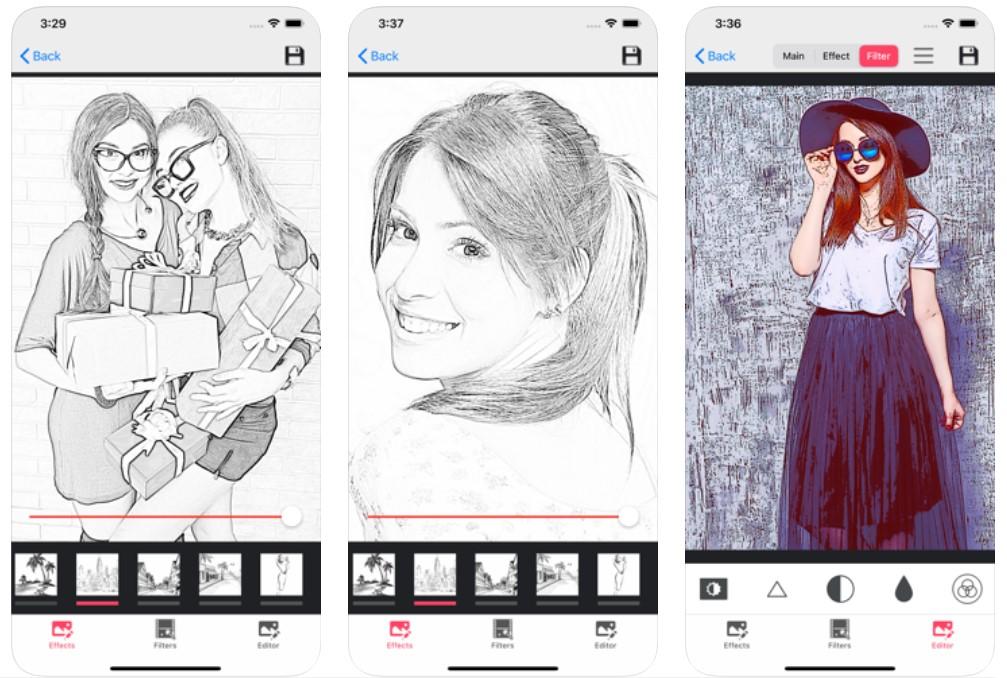 Pencil Photo Sketch Editor