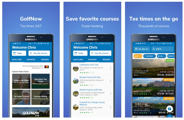 GolfNow: Tee Time Deals