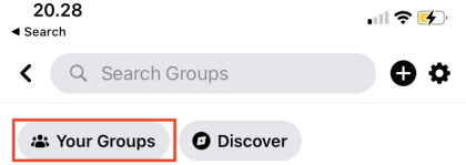 Navigate to Groups You Manage, then select See All. Choose the group you want to pin a post.